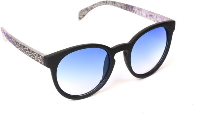 6by6 SG778 Round Sunglasses(Blue)