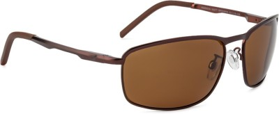 Velocity Velocity Jason Rectangular Sunglasses