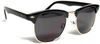 Epic Ink vin4786 Round Sunglasses(Black)