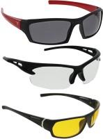 Vast COMBO_RG_WHJ_LATESTYK Sports Sunglasses(Grey)