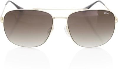 IDEE IDS2064C4SG Rectangular Sunglasses(Brown)