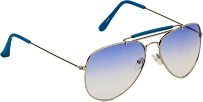 6by6 SG1388 Aviator Sunglasses(Blue)