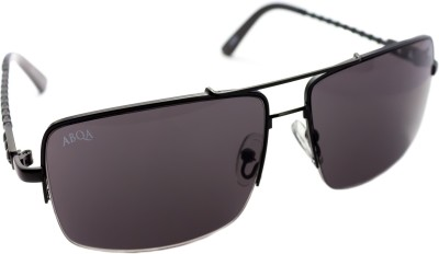 Abqa Hi Quality Premium Limited Edition With Skull Design On Bar Rectangular Sunglasses