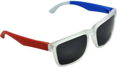 Alphaman Red, White & Blue Warrior of Night Wayfarer Sunglasses