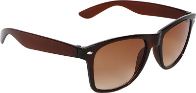 Caricature Brown Wayfarer Sunglasses