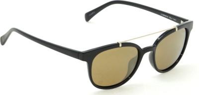IZARRA Polarized Mirror Round Sunglasses