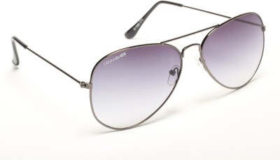 Danny Daze D-1300-C13 Aviator Sunglasses(Grey)
