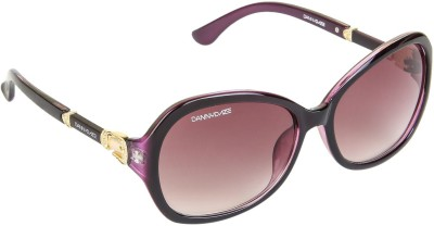 Danny Daze D-263-C4 Over-sized Sunglasses(Brown)