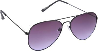 Gansta Gradient Lens Aviator Sunglasses