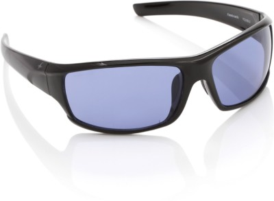 Fastrack P223BU2 Wrap-around Sunglasses(Blue)