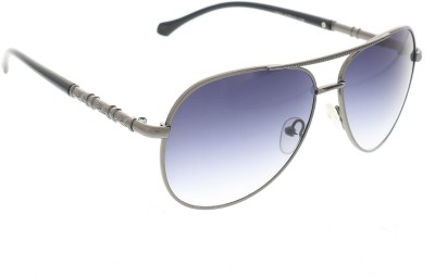 Vast 1802_men_women_matt_grey_gun_aviator Aviator Sunglasses(Grey)
