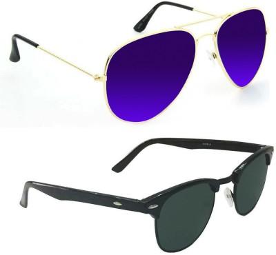 Epic Ink Aviator, Round Sunglasses