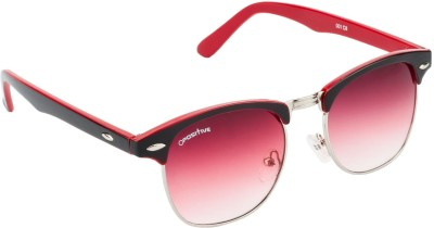O Positive Club Master Round Sunglasses