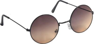 Zoya Retro Round Sunglasses