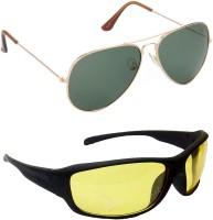 Red Leaf RCMB104_1 Aviator Sports Sunglasses(For Boys)