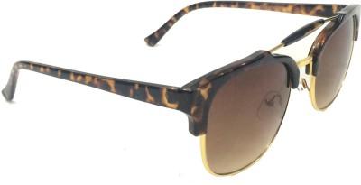 Eye Jewels Trendy Wayfarer, Round Sunglasses