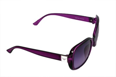 Urbanware Womens 71522 Over-sized Sunglasses(Violet)