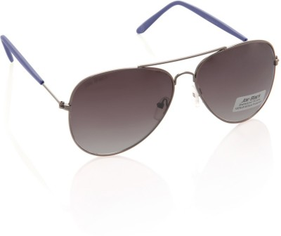 Joe Black JB-607-C4 Aviator Sunglasses(Grey)