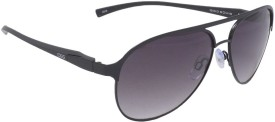 IDEE S2105-C1 Aviator Sunglasses(Black)
