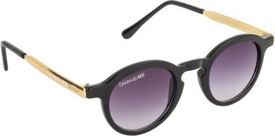 Danny Daze D-2526-C1 Round Sunglasses(Violet)