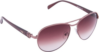 IMAGE 463-C2P Aviator Sunglasses(Brown)