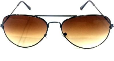 Eye Jewels Retro Aviator Sunglasses