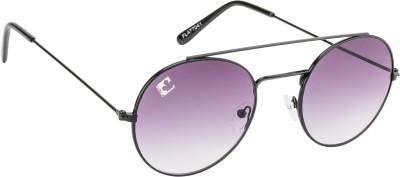 Clark N, Palmer Panto Grey Gradient RH 165 Oval Sunglasses