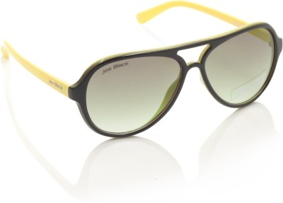 Joe Black JB-568-C3 Aviator Sunglasses(Yellow)