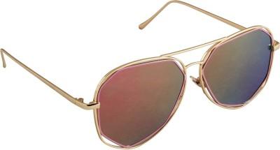 6by6 SG1673 Aviator Sunglasses(Multicolor)