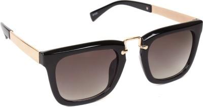 6by6 SG748 Wayfarer Sunglasses(Black)
