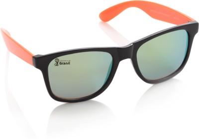 FIFA FB-S-213 Wayfarer Sunglasses(Green)