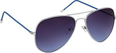 Olvin OL301-01 Aviator Sunglasses(Blue)