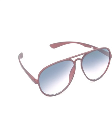 6by6 SG497 Aviator Sunglasses(Blue)