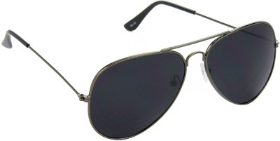 Red Leaf RD-BX04_1 Aviator Sunglasses(Black)