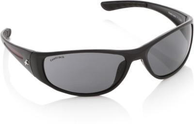 Fastrack P120BK1 Wrap-around Sunglasses(Grey)