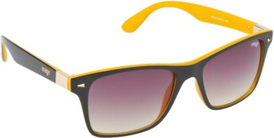 IMAGE S428-C5 Wayfarer Sunglasses(Brown, Grey)