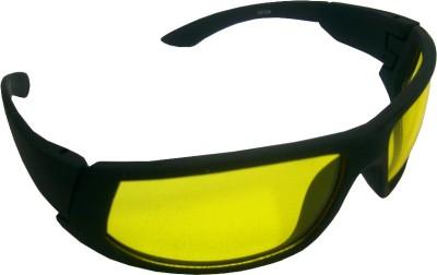 Abqa Bat Hd Vision Anti Glare Biking Night Driving - Cat-eye Sunglasses