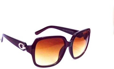 Anti Gravity uv_108 Brown Cat-eye Sunglasses