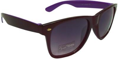Goggy Poggy FW405-BLK-PUR Wayfarer Sunglasses