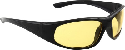 Allen Cate Night Vision Wrap-around Sunglasses
