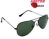 Abster AB-S-3028-POL-GUN-BLK Aviator Sunglasses(Grey)