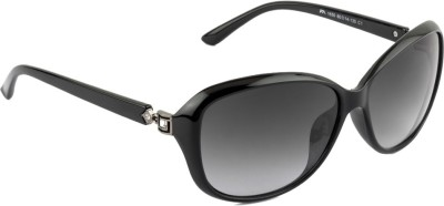 Farenheit FA-1650-C1 Oval Sunglasses(Grey)