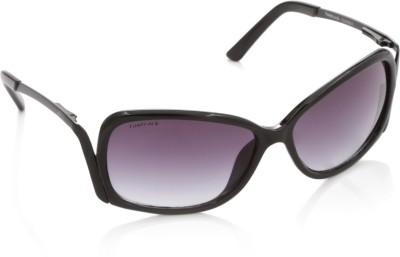 Fastrack C046BK1 Over-sized Sunglasses(Blue, Violet)