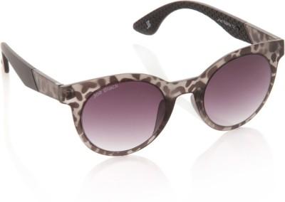 Joe Black JB-594-C4 Round Sunglasses(Violet)
