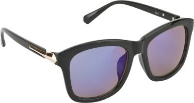 Swiss Design Reflective Wayfarer Sunglasses