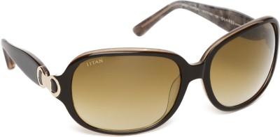 Glares by Titan G022CXFL9C Over-sized Sunglasses