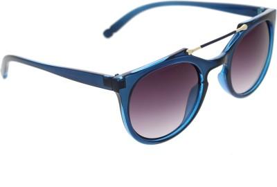 72c7ba15e63 Vast ROUNDTOPBAR 96005 BLUE W Wayfarer Sunglasses(Brown)