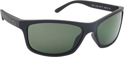 Arnette AN_4192_PPBLKBLK3N Rectangular Sunglasses(Black)