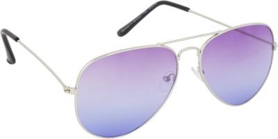Khwaish Rainbow Aviator Sunglasses