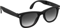 Epic Ink Foldable Wayfarer Sunglasses(Black)